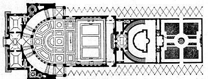 Villa Papa Giulio-plan